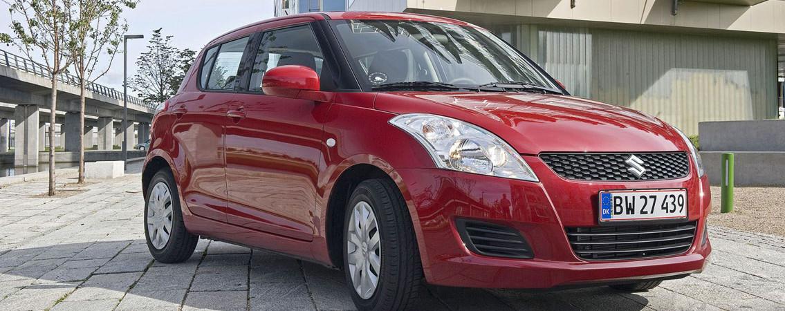 Suzuki Swift:<br /> Køreglæde er standard, fra 109.990 kr.