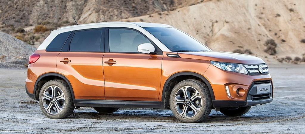 NY Suzuki Vitara:<br />Usædvanlig meget SUV for kun 195.000