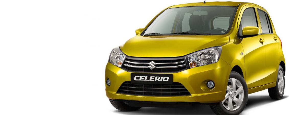 Suzuki Celerio 5-dørs<br>– fra 103.970 kr. incl. levering