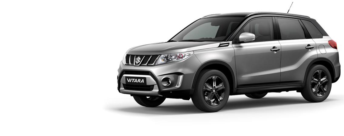 Suzuki Vitara:<br>Usædvanlig meget SUV<br>–  fra kun 193.970 kr. incl. levering