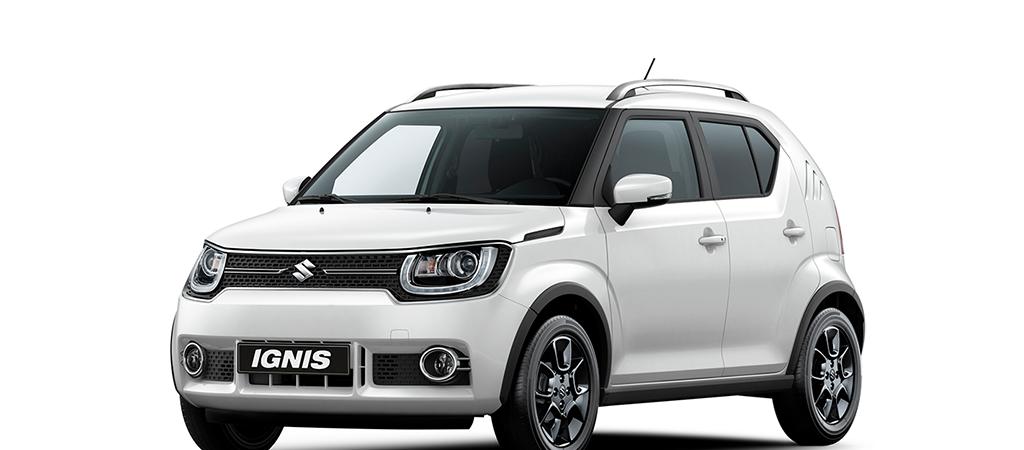 Nyhed: Suzuki Ignis – den første mini SUV<br> – fra 136.970 incl. levering