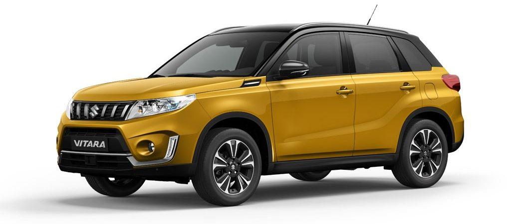 Suzuki Vitara:–  fra kun 197.990 kr.