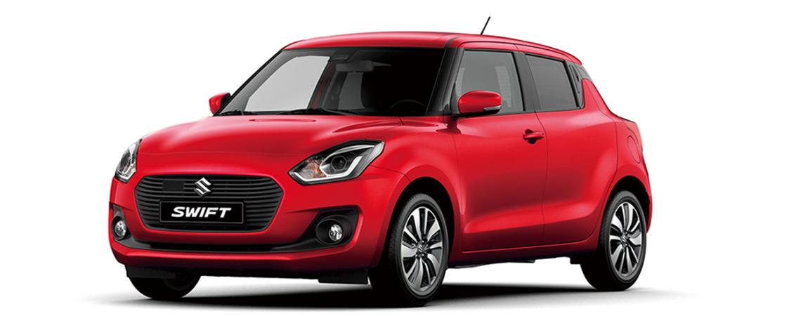 Suzuki Swift HYBRID: Køreglæde er standard– fra 137.990 kr.